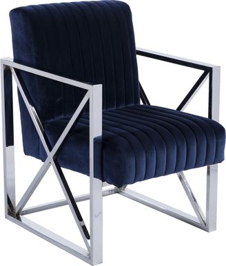 Fetteressa Blue Accent Chair
