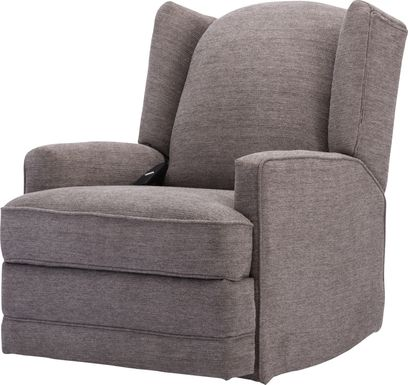 Fieldston Gray Power Recliner