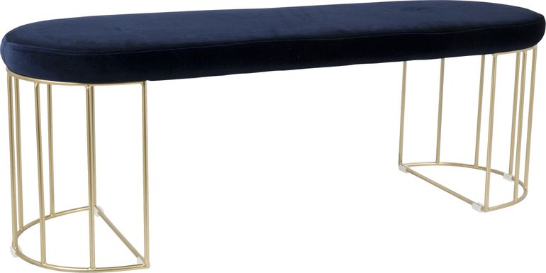 Filia Blue Bench