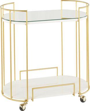 Filia Gold Bar Cart