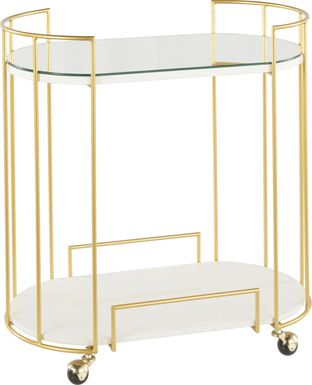 Filia Gold Bar Cart