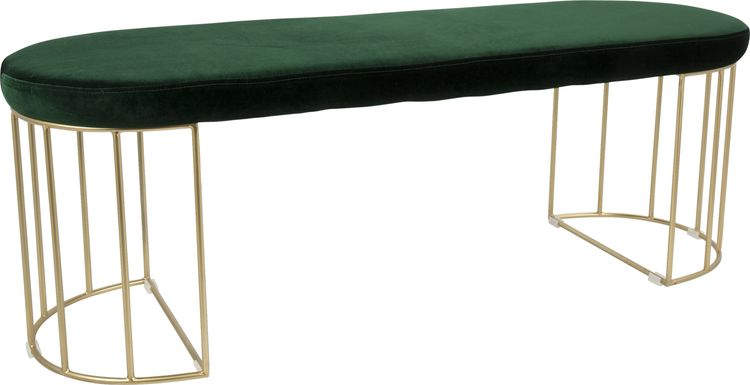 Filia Green Bench