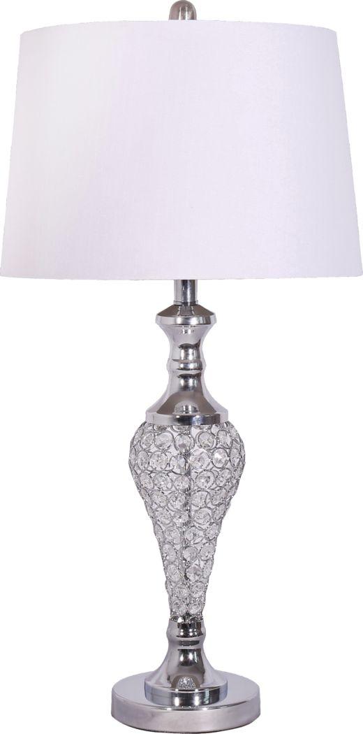 Finsbury Silver Lamp