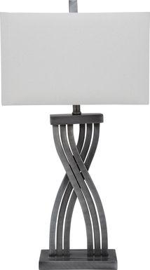Fintan Silver Lamp