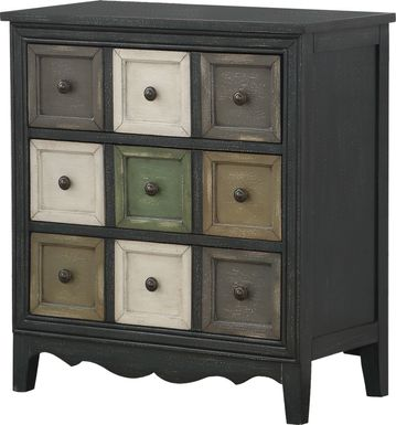 Fletcher Gray Accent Cabinet