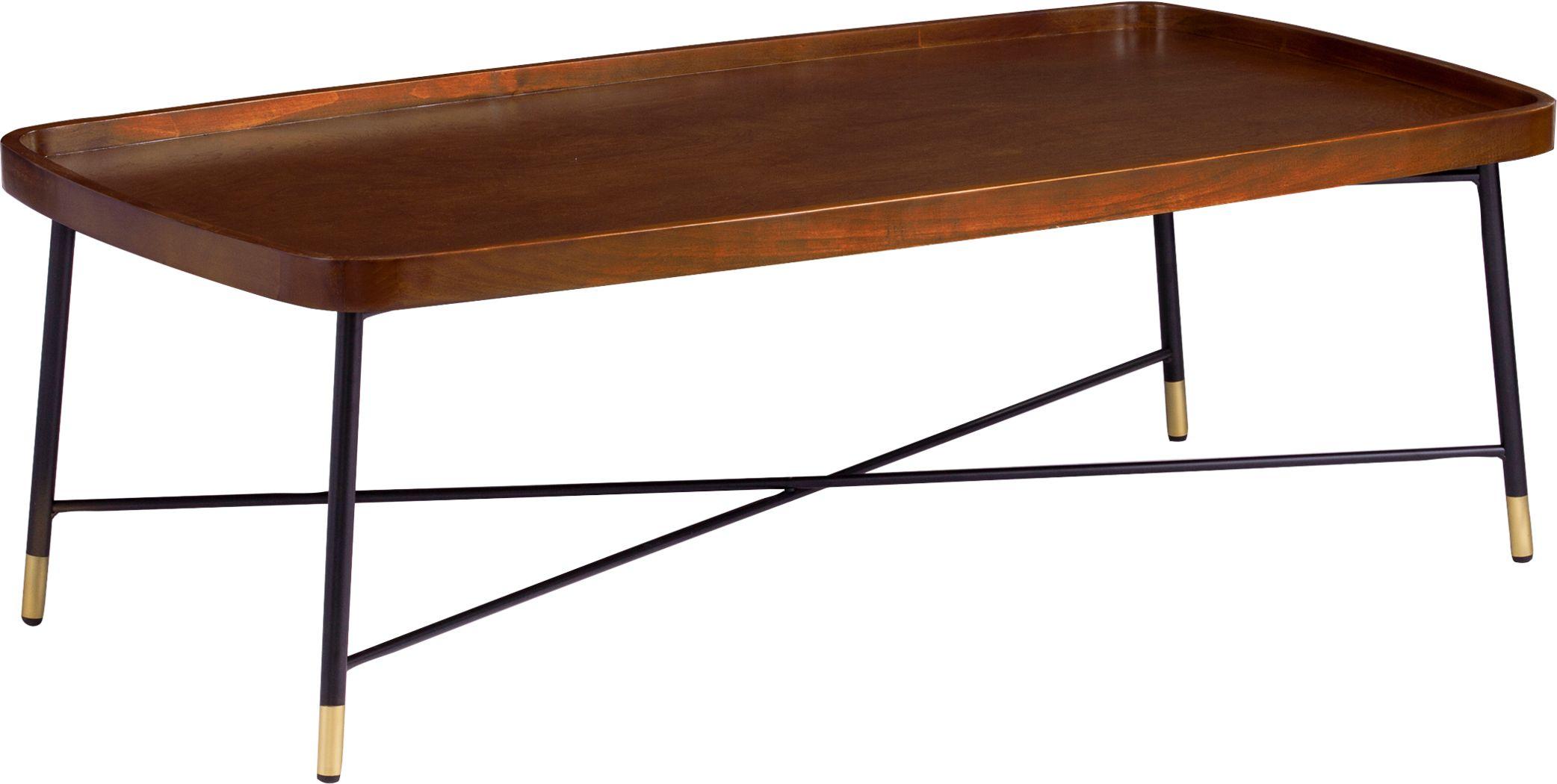 Flicker Court Walnut Cocktail Table