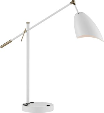 Florentine Court White Table Lamp