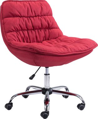 Folley Red Office Chair