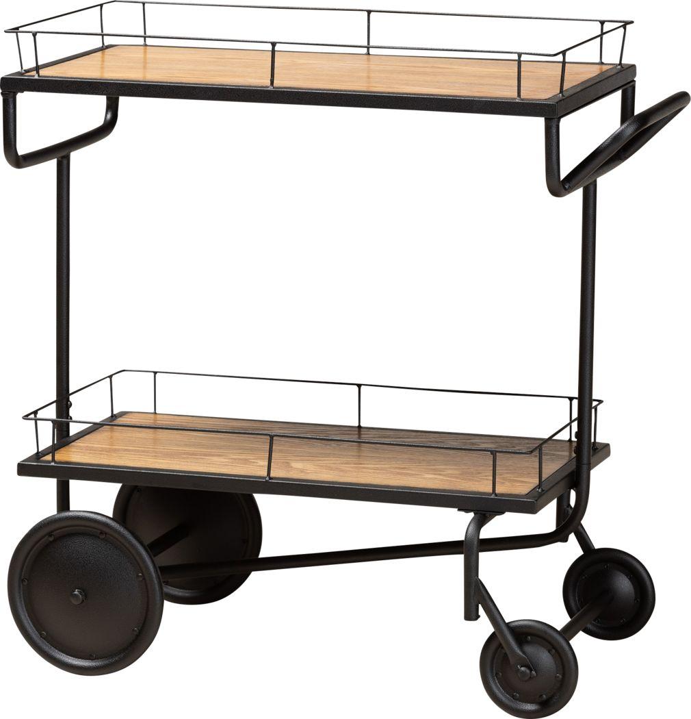 Foneswood Brown Kitchen Cart