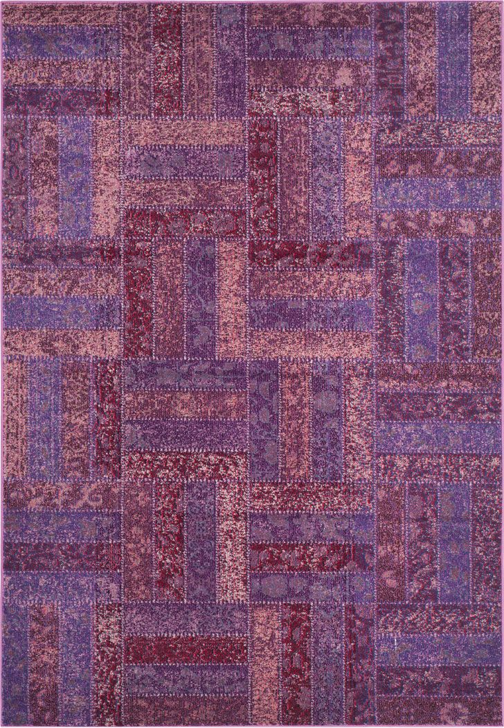 Forada Purple 5'1 x 7'7 Rug