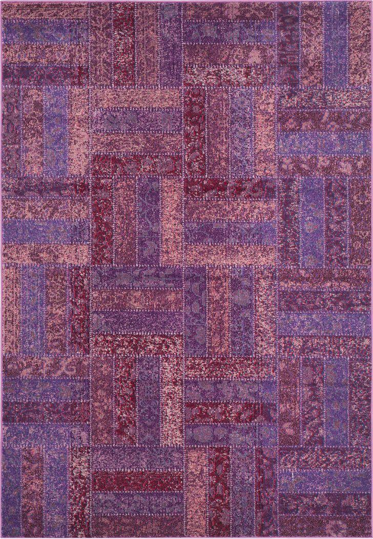 Forada Purple 6'7 x 9'2 Rug