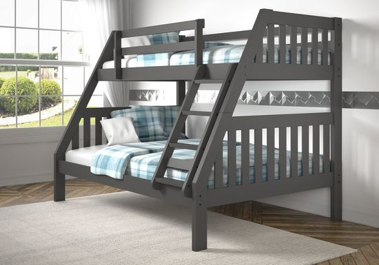 Forster Grove Gray Twin/Full Bunk Bed