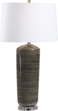 Forsythe Lane Charcoal Lamp
