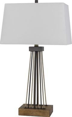 Fountain Grove Bronze Table lamp