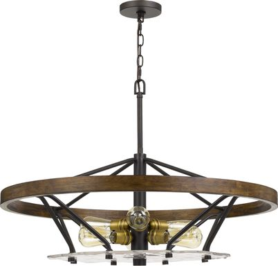 fountain village bronze chandelier