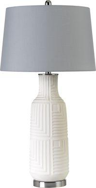 Fox Creek White Lamp