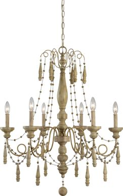 Fox Glen Wood Chandelier