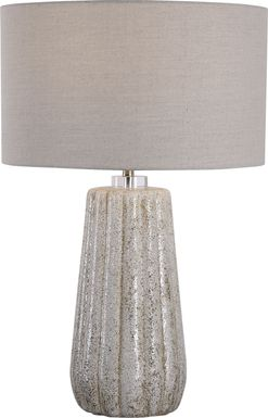 Foxclover Taupe Lamp