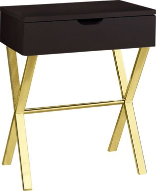 Foxley Cappuccino End Table