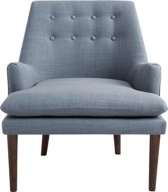 Foxshire Blue Accent Chair