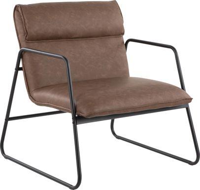 Francrest Espresso Accent Chair