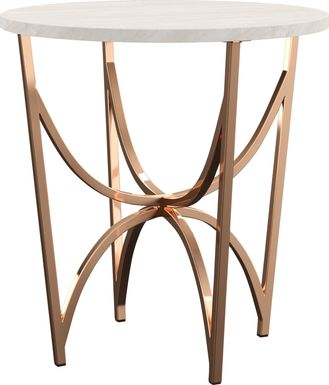 Fratessa Gold End Table
