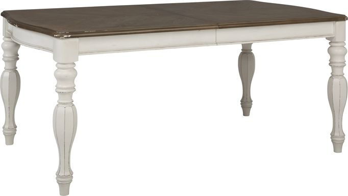 French Market White Dining Table