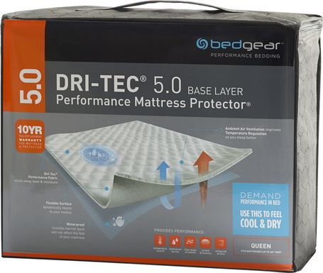 Performance BEDGEAR Dri-Tec 5.0 Full Mattress Protector