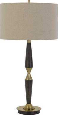 Fulton Place Brass Lamp