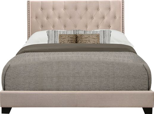Galewood Beige Full Upholstered Bed