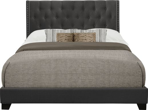 Galewood Dark Gray Full Upholstered Bed