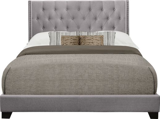 Galewood Gray Queen Upholstered Bed
