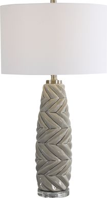 Galileo Lane Gray Lamp