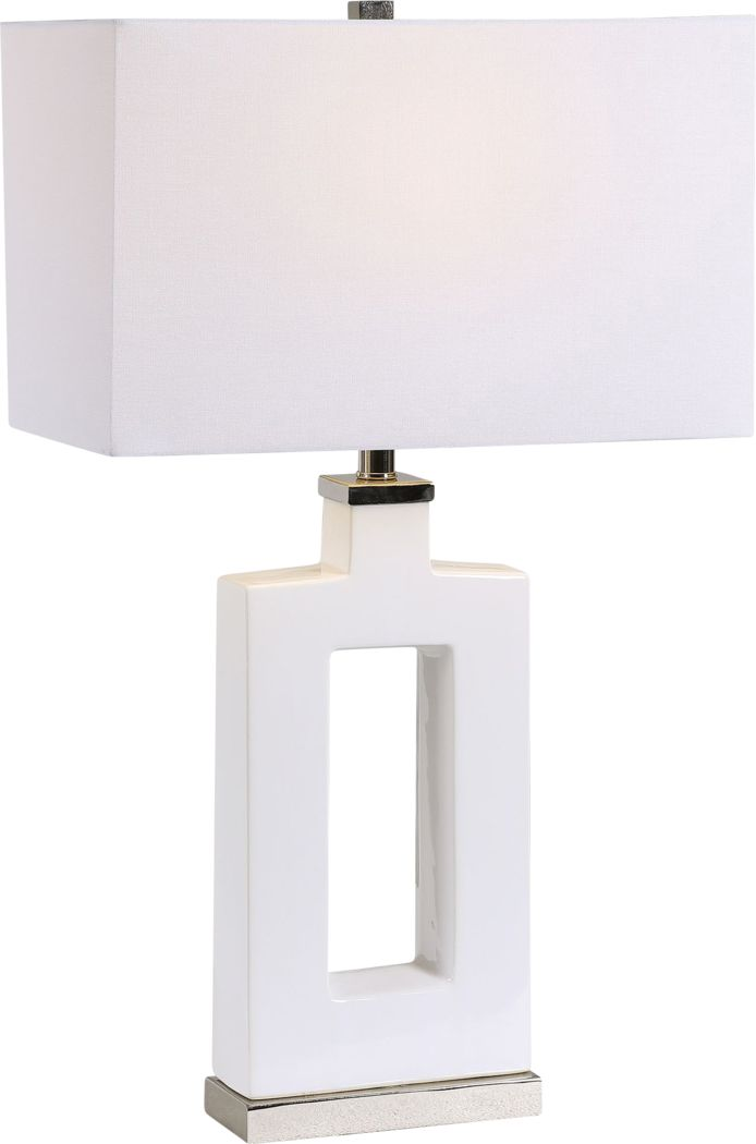 Gallantry Way White Lamp