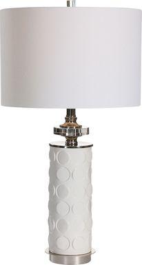 Galleria Way White Lamp