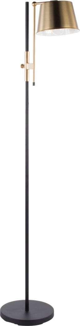 Gallieni Bronze Floor Lamp