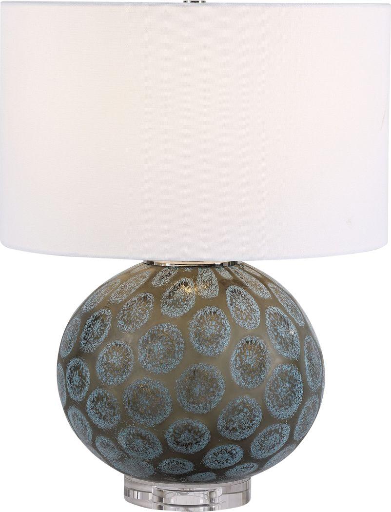 Gandalf Drive Charcoal Lamp