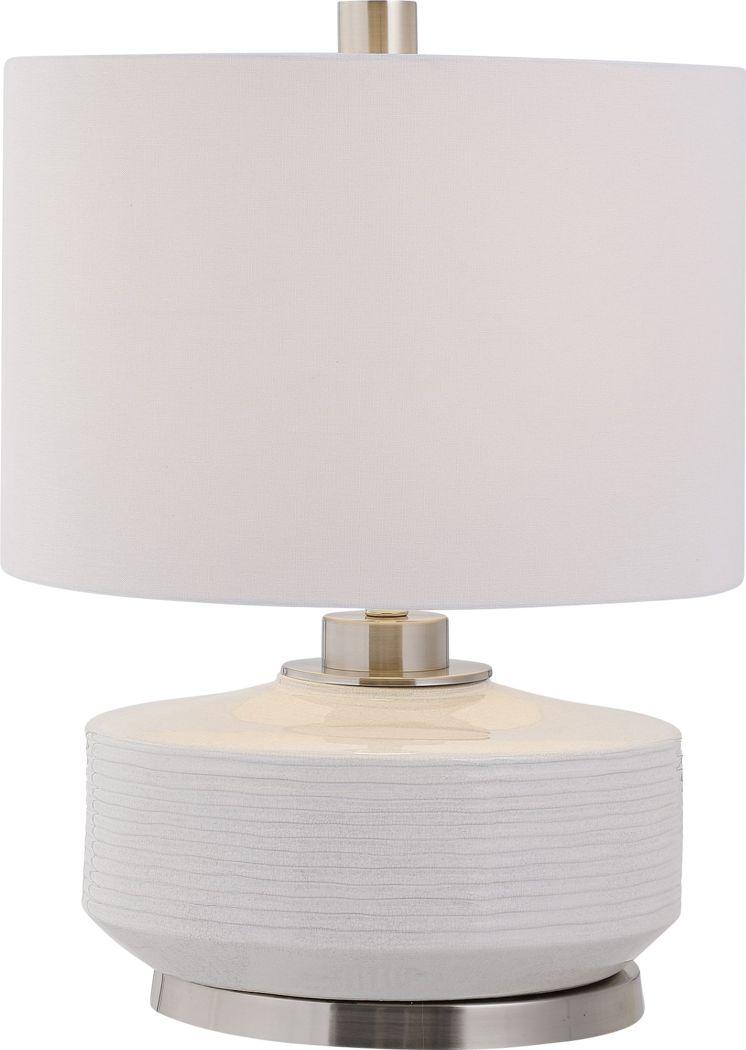 Garden Farm Ivory Lamp