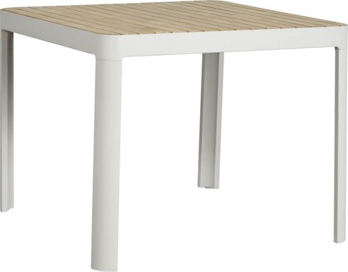 Garden View Sand Square Outdoor Dining Table