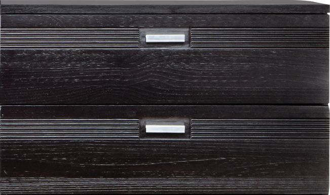 Gardenia Black Dresser Stack (mounts on dresser)