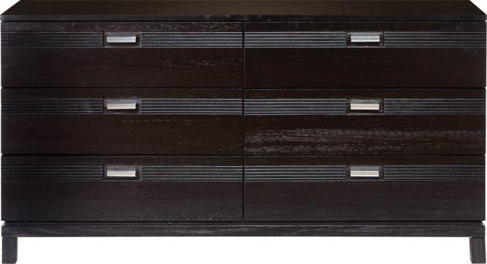 Gardenia Black Dresser