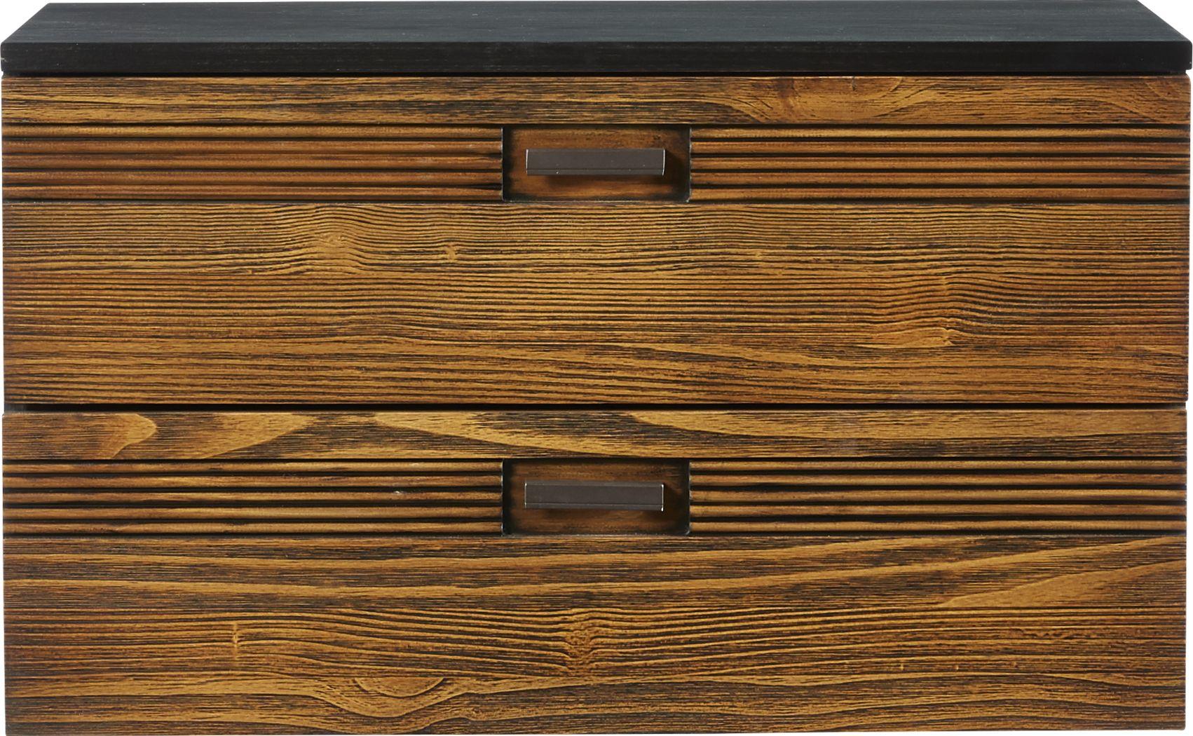 Gardenia Honey Dresser Stack (mounts on dresser)