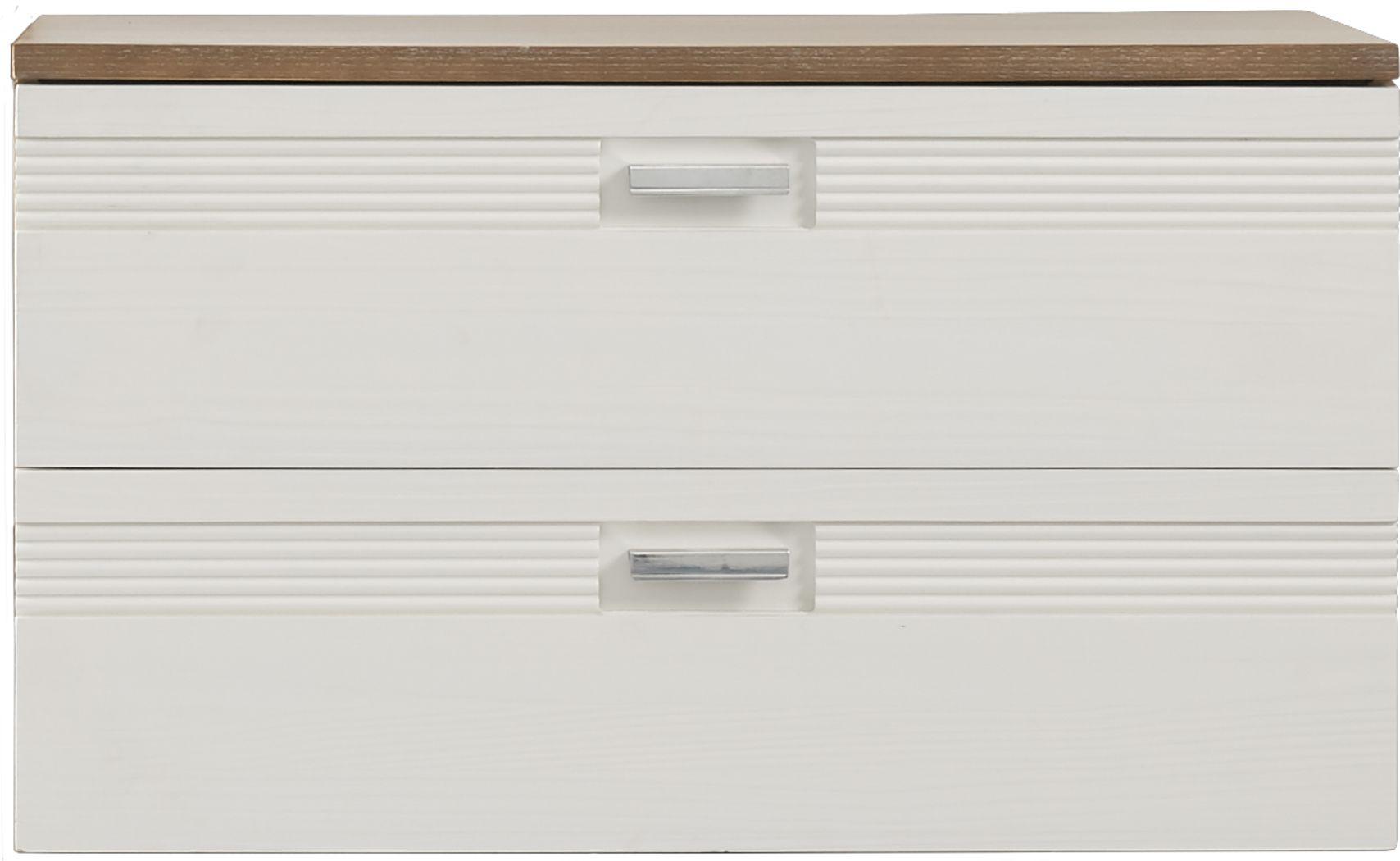 Gardenia Pecan Dresser Stack (mounts on dresser)