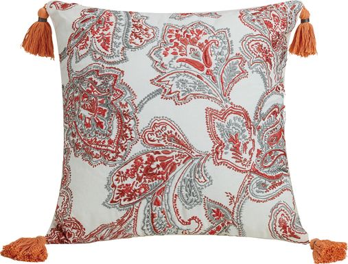 Garlene Gray Decorative Pillow
