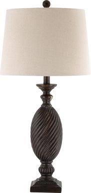Garlinghouse Black Lamp