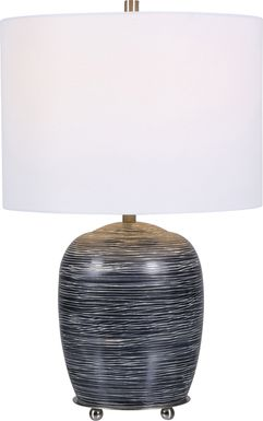 Garner Court Black Lamp