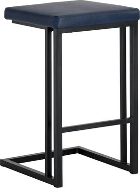 Garnett Blue Counter Stool