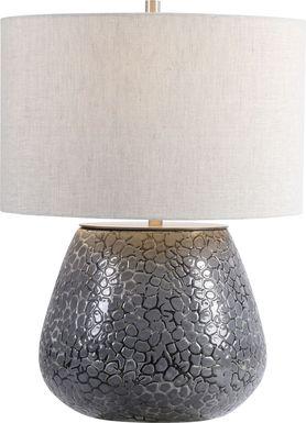 Garnette Circle Charcoal Lamp