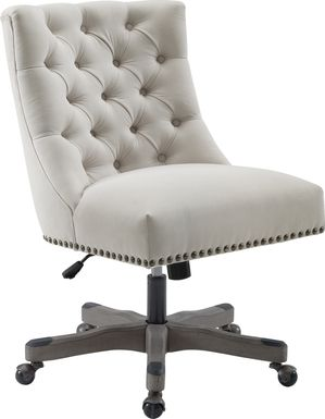 Gartland Light Gray Office Chair