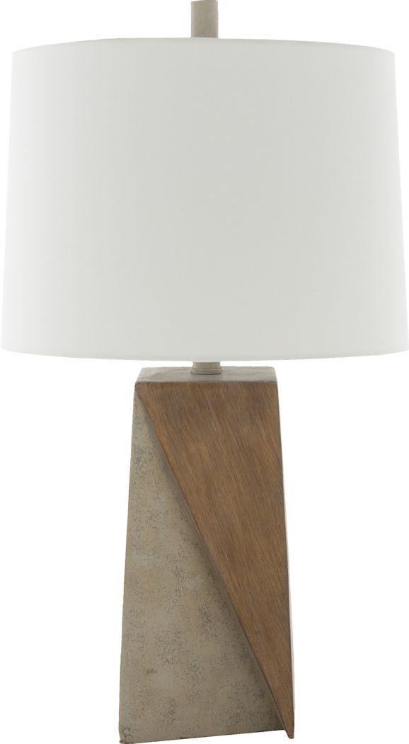 Gaspar Grotto Brown Lamp